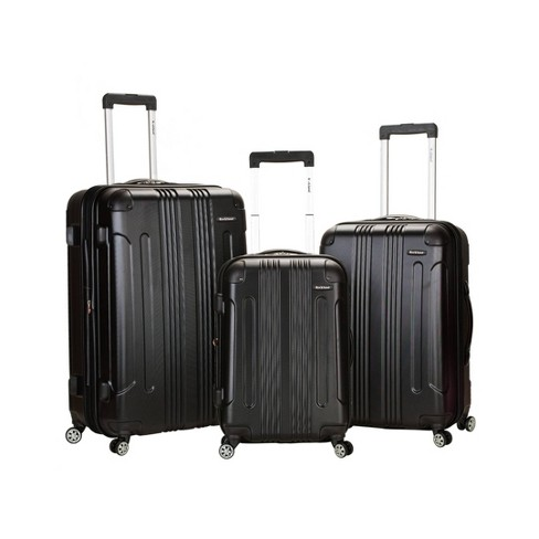 Rockland Sonic 3pc ABS Luggage Set - image 1 of 4