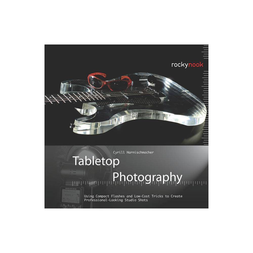 Tabletop Photography - by Cyrill Harnischmacher (Hardcover) Imagine capturing stunning, professional-looking product shots without needing a studio filled with expensive equipment and large flash units. This book teaches all the steps for creating your own tabletop photography studio. Affordable compact flashes offer a number of creative lighting options within your tabletop studio; and the appropriate lighting and backdrop, and the creative use of your camera's features are key to a perfect image. Author Cyrill Harnischmacher guides you through a variety of exposure and lighting techniques, and covers how to achieve excellent results using compact flash units. Whether you wish to capture product images for use in print or on the web, or you want to improve your photos for personal use, this book will provide you with everything you need to know to get great results. Topics include: Lighting Setups; Reflectors, Diffusors, and Accessories; Soft Boxes and Umbrellas; Strobe Flashes; Combining Long Exposures with Flashlights; Multi-Flash Exposures; Composition and Arrangements; Creating Backdrops; Product Photography; Smoke, Fog, and Special Effects; Food Photography and much more...