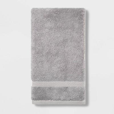 Soft Solid Hand Towel Gray - Opalhouse™