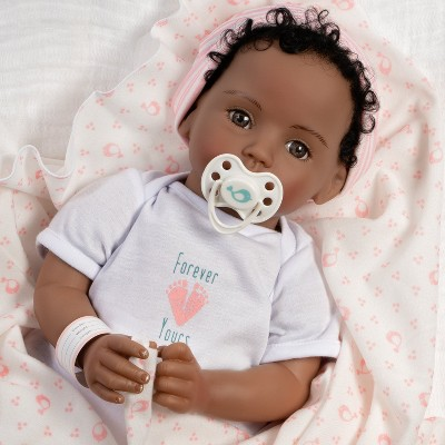 Paradise Galleries Realistic Newborn Doll - Forever Yours Beloved, 7-Piece Reborn Doll Gift Set with Magnetic Pacifier