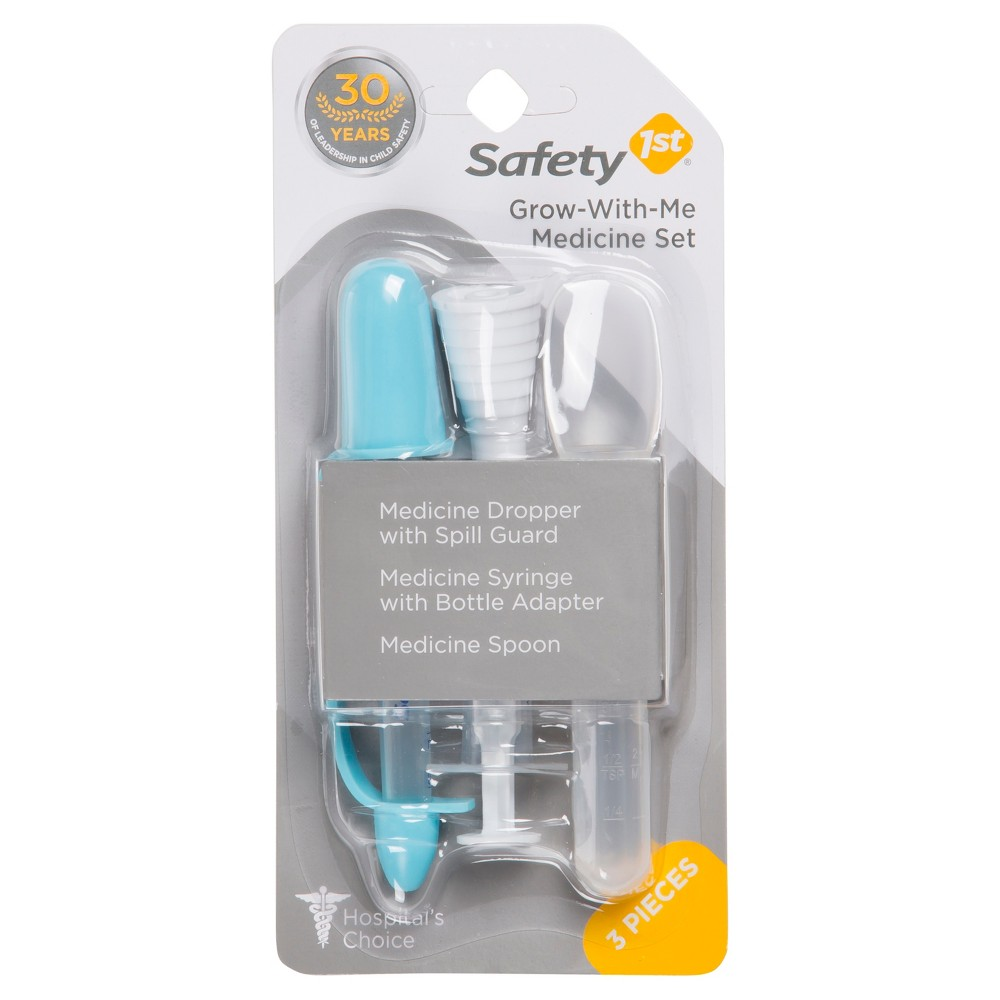 Safety 1st Grow-With-Me Medicine Set, White