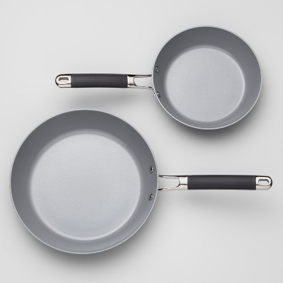 Ceramic Coated Aluminum Frypan 2pk - Made By Design™