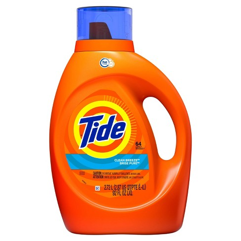 Tide Clean Breeze High Efficiency Liquid Laundry Detergent - image 1 of 3