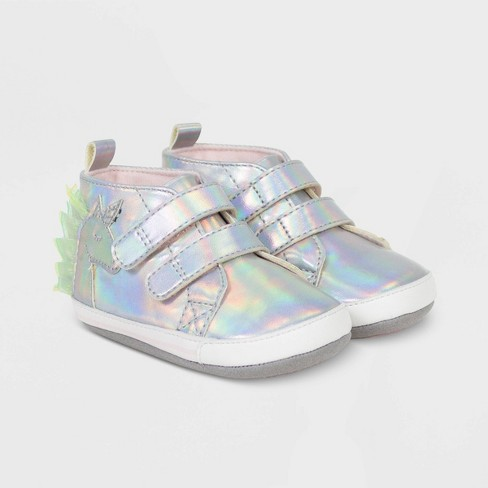 Baby Girls' Ro+Me by Robeez Unicorn High Top Sneakers - image 1 of 4