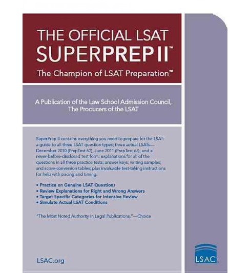 Official LSAT Superprep II (Paperback) - image 1 of 1
