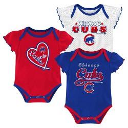 MLB Chicago Cubs Girls' Bodysuit