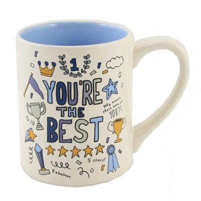 """Tabletop 4.0"""" You're The Best Mug Simply Mud Enesco  -  Drinkware"""