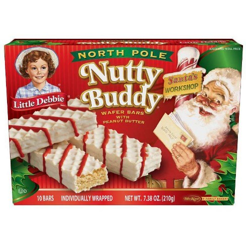 Little Debbie North Pole Nutty Buddy Wafer Bars - 10ct - image 1 of 1