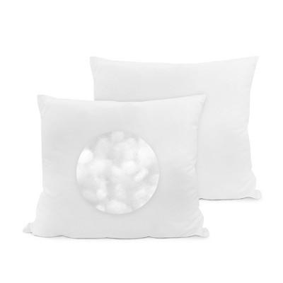 "SensorPEDIC 28""x28"" Euro Square Fiber Pillow 2 Pack"