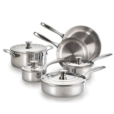 Lagostina Expert Clad 10pc Cookware Set