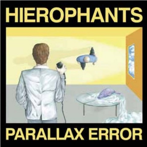 Hierophants - Parallax error (CD) - image 1 of 1