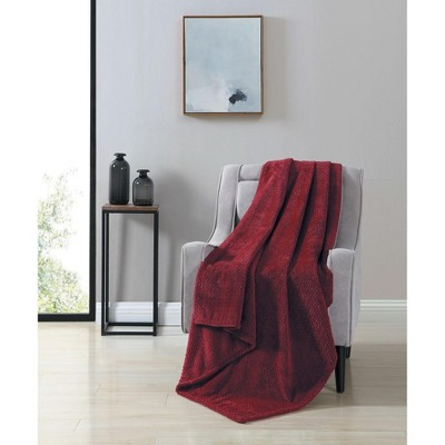 Kate Aurora Ultra Soft & Plush Herringbone Fleece Throw Blanket Covers