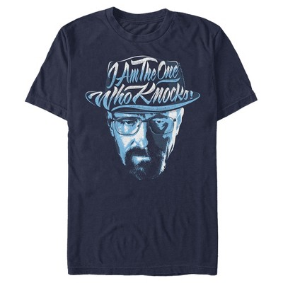 Men's Breaking Bad Walter One Who Knocks Quote T-Shirt