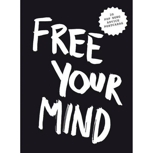 Free Your Mind Postcard Block - (Pop Music Wisdom) by  Marcus Kraft (Paperback) - image 1 of 1
