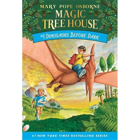 Dinosaurs Before Dark (Magic Tree House Book 1) (Paperback) (Mary ...