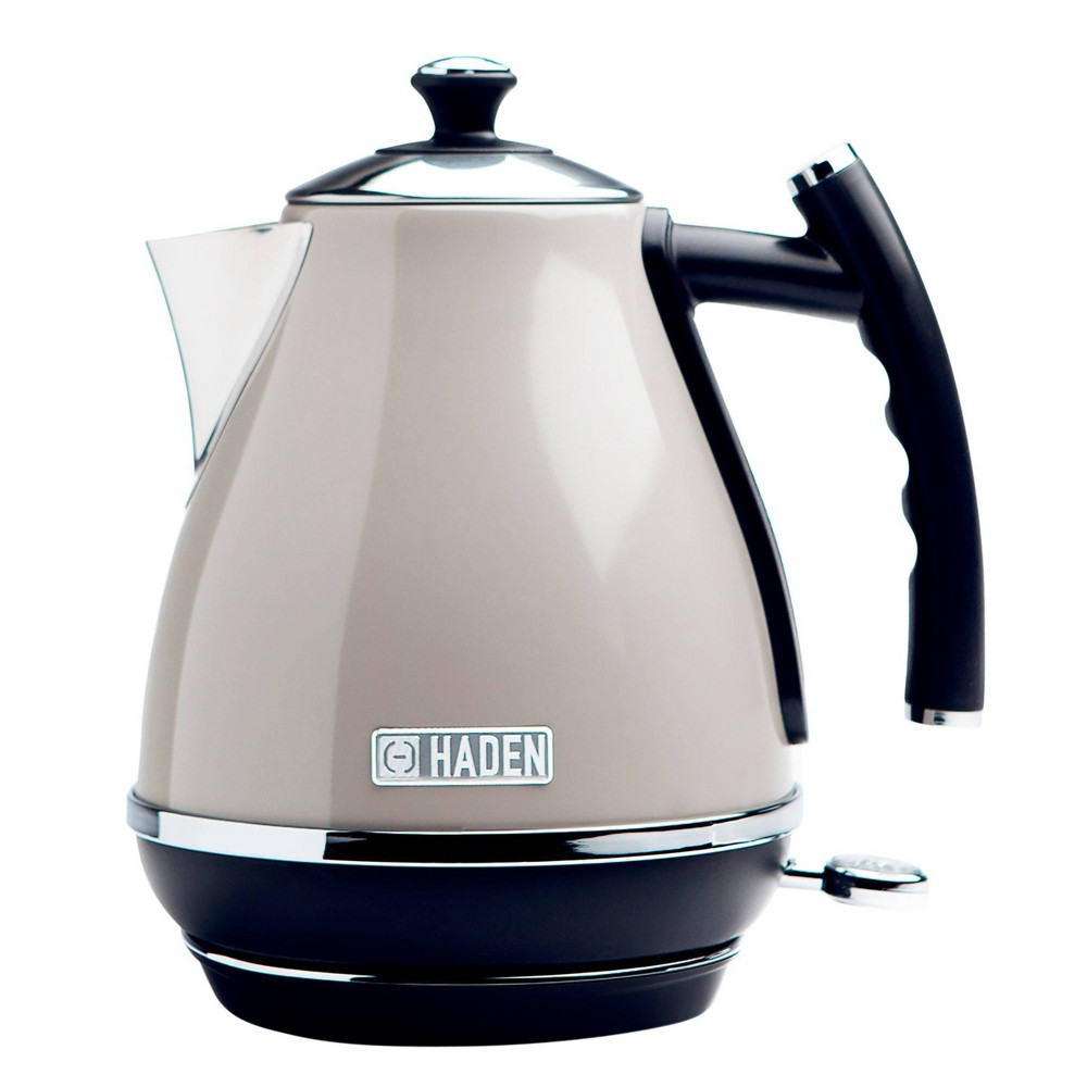 Image of Haden Cotswold 1.7L Stainless Steel Electric Kettle - Beige