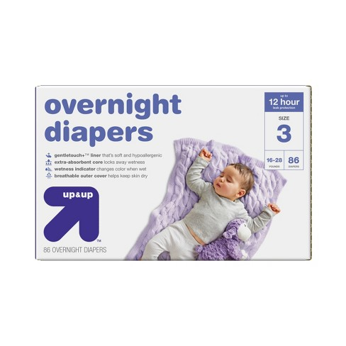 Overnight Diapers Super Pack - Up&Up™ - image 1 of 1