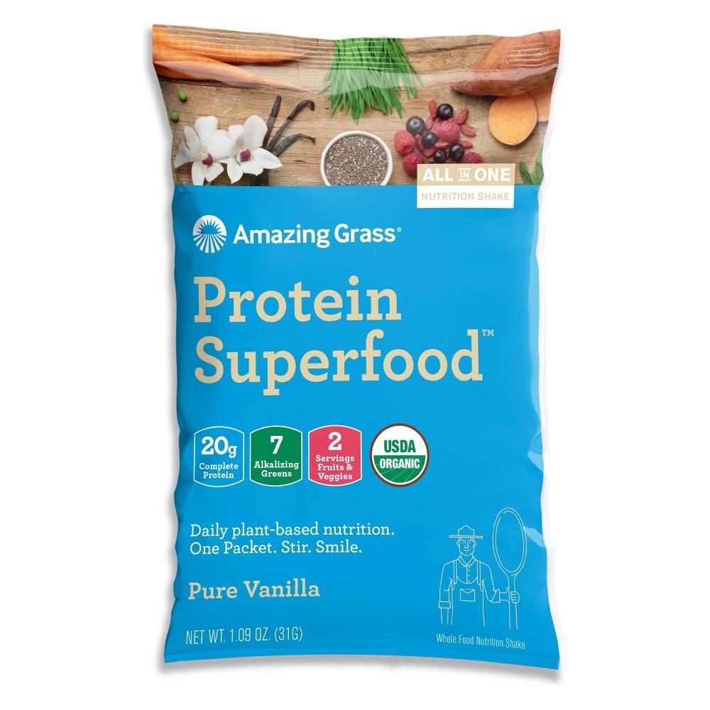 + Protein Superfood Dietary Supplement Powder - Vanilla -...
