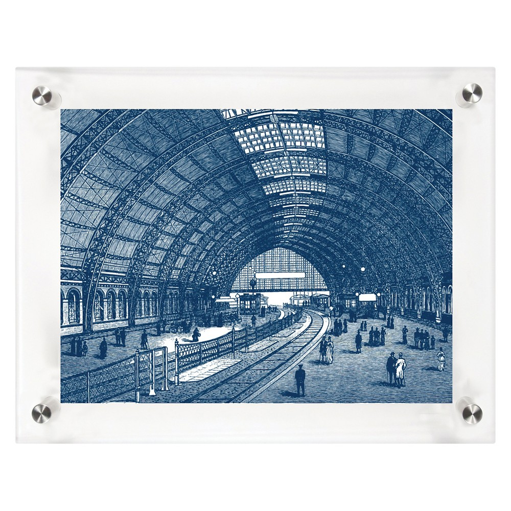 Mitchell Black Perspective Decorative Framed Wall Canvas Midnight (12