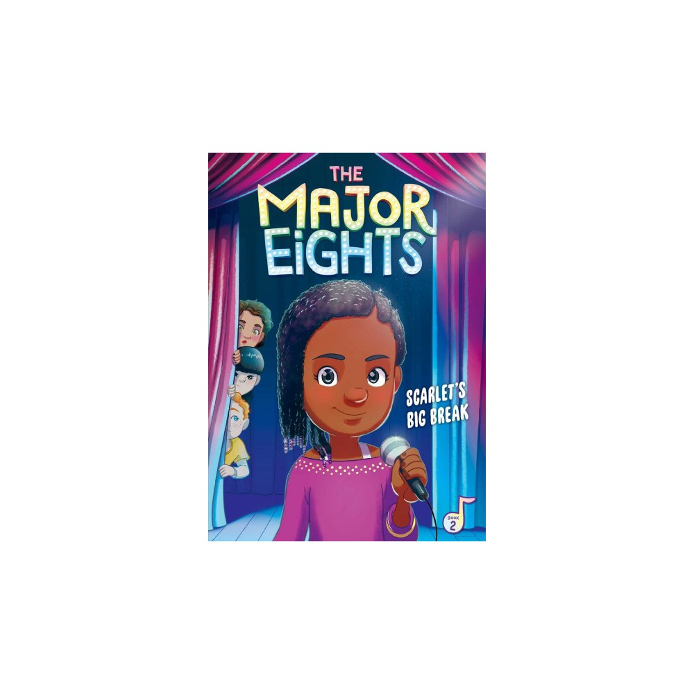 Scarlet's Big Break - (Major Eights) by Melody Reed (Paperback)