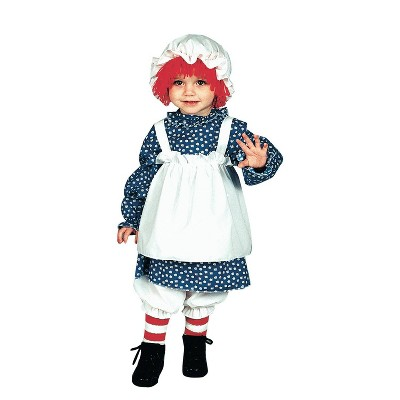 Girls' Raggedy Ann Toddler Costume 1 To 2