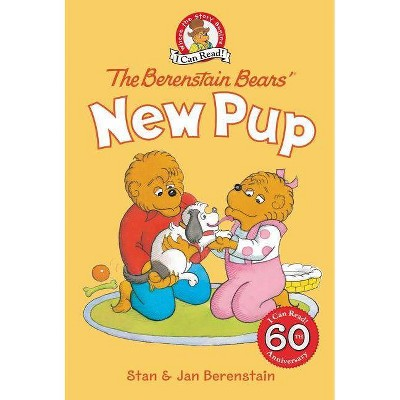 The Berenstain Bears' New Pup - (I Can Read Level 1)by Stan Berenstain (Hardcover)