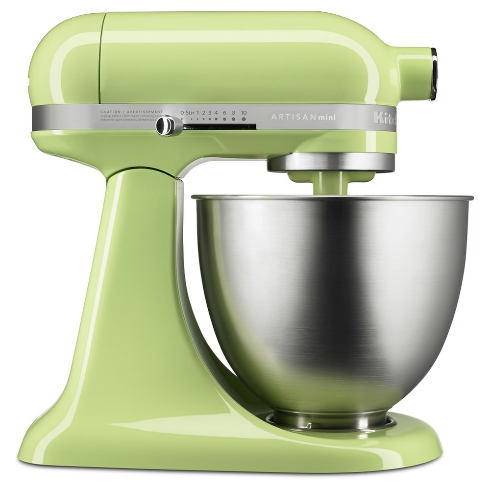 KitchenAid Artisan Mini 3.5qt Tilt-Head Stand Mixer – KSM3311XHW, Honey Dew 51003069
