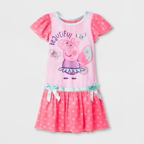 3500280c8d Toddler Girls  Peppa Pig Dressy Nightgowns - Pink 4T   Target