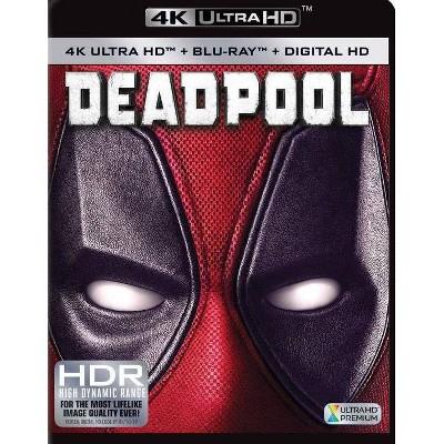 Deadpool(4K/UHD + Blu-ray + Digital)