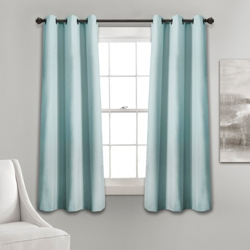Absolute Blackout Window Curtain Panels - Lush Décor - image 1 of 4