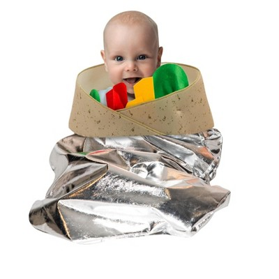 Orion Costumes Burrito Unisex Pull Over Costume For Babies or Small Toddlers One Size Only
