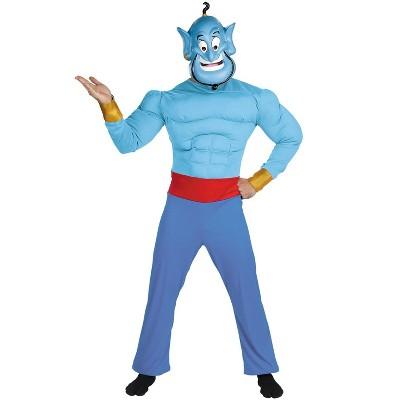 Aladdin Disney Aladdin Genie Muscle Adult Costume
