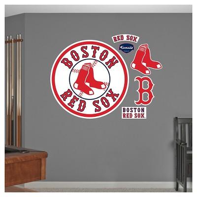 Decorative Wall Art Set Fathead 52 X 4 X 4 Boston Red Sox