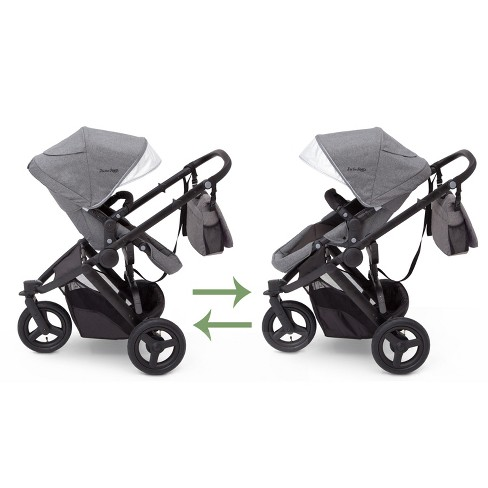 J is for Jeep Brand Sport Utility All-Terrain Jogger Stroller with ...