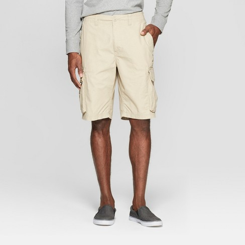 Men's Cargo Shorts - Goodfellow & Co™ Pita Brown - image 1 of 3