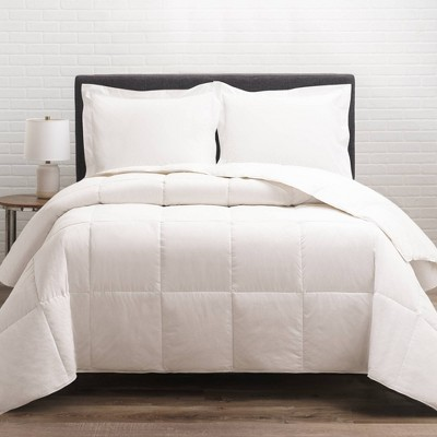 300 Thread Count Cotton Twill All Season Down Comforter - Allied Home