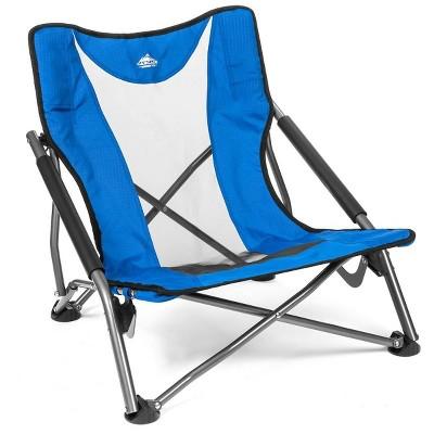 Cascade Mountain Tech Outdoor Chair Low Profile Chair - Royal Blue