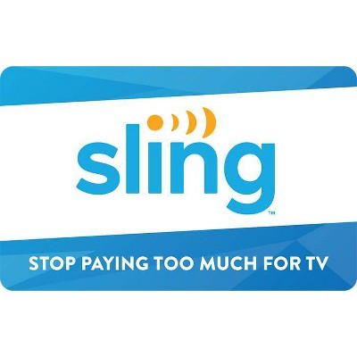 Sling TV Gift Card $50 (Email Delivery)