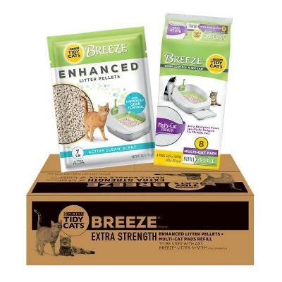 Tidy Cats Breeze Extra Strength Cat Litter Bundle Pack - 7lb