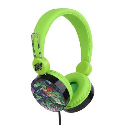 Rise of The Teenage Mutant Ninja Turtles High Quality Wired Headphones in Green