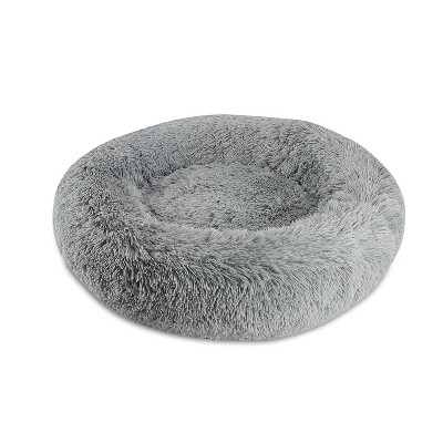 Canine Creations Donut Round Dog Bed - M - Charcoal