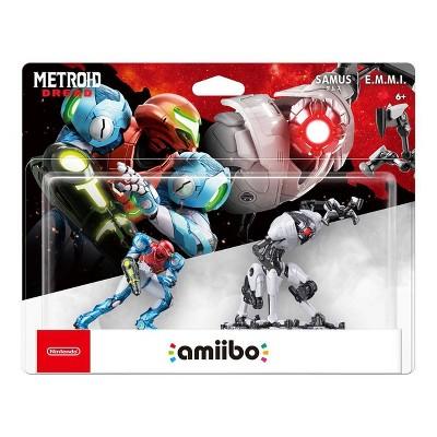 Metroid Dread amiibo Figures - Samus/E.M.M.I.