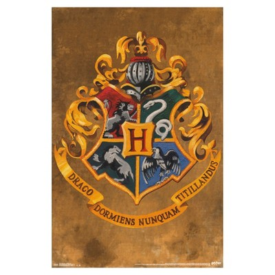 Harry Potter Hogwarts Crest Poster 34x22 - Trends International
