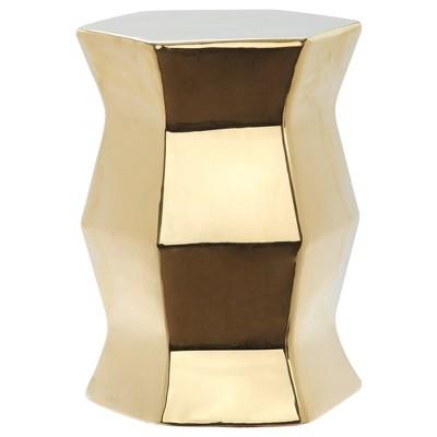 Lucena Garden Stool - Gold - Safavieh®