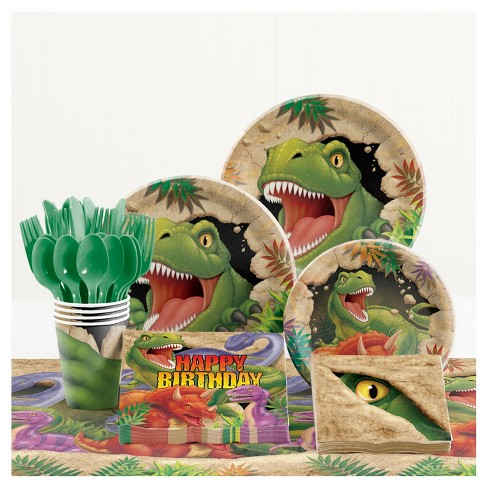 Dinosaur Birthday Party Supplies Kit - image 1 of 1