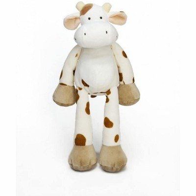 TriAction Toys Teddykompaniet Diinglisar Collection 15 Inch Plush Animal | Cow