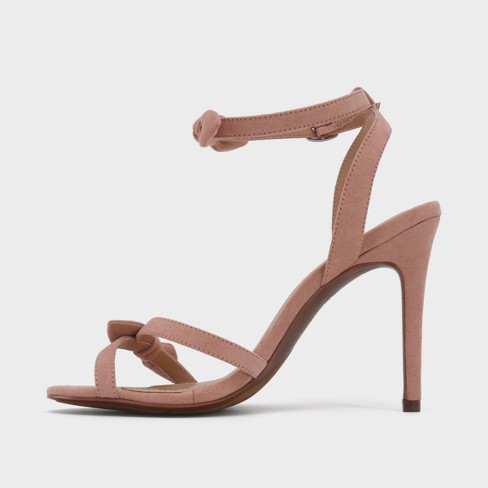 3211fe2137f8 Women s Accent Heeled Ankle Strap Sandals - Who What Wear™   Target