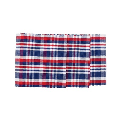 "C&F Home 13"" x 72"" Harbor Plaid Table July 4th Runner"