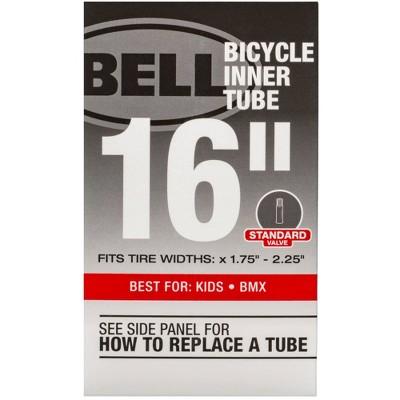 """Bell 16"""" Bike Tire Tube - Black"""