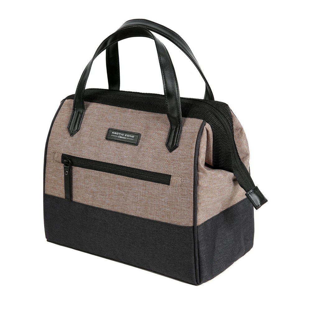 Image of Arctic Zone Lunch Tote - Gingersnap/Black